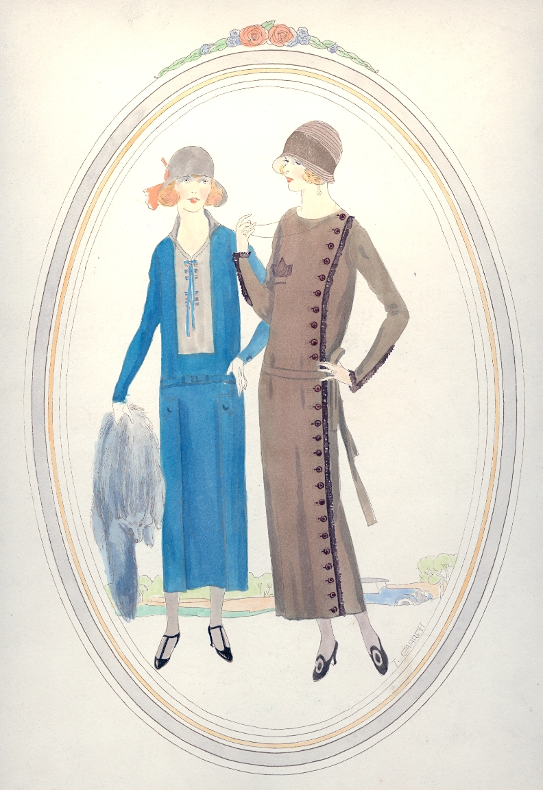 1920s fashion research paper