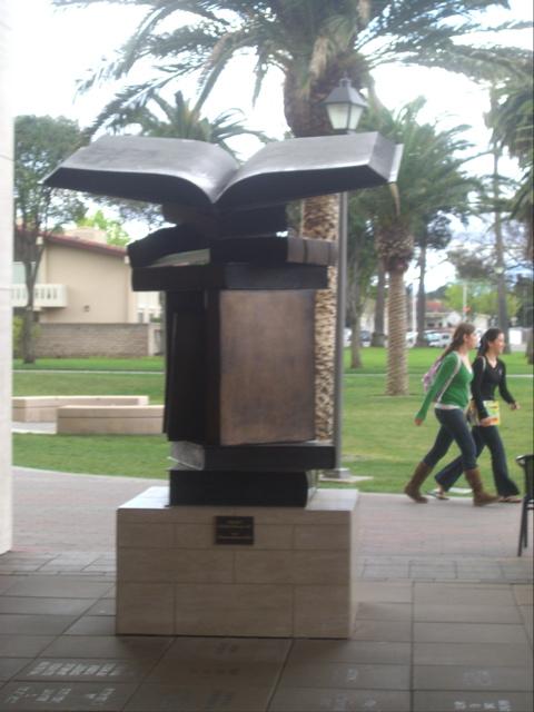 book-statue