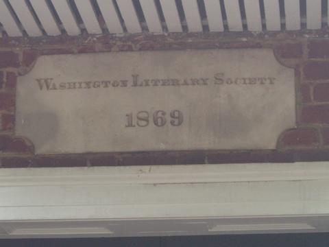 literary societysign
